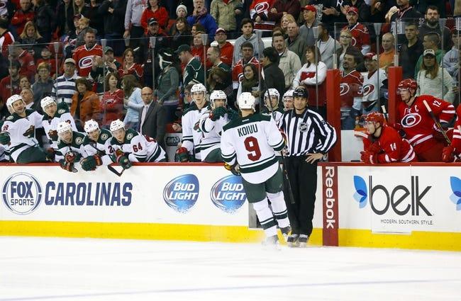 Wild vs. Hurricanes - 2/14/15 NHL Pick, Odds, and Prediction