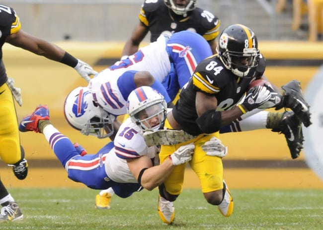 Pittsburgh Steelers vs. Buffalo Bills 8/16/14 NFL Preseason Pick, Odds, Prediction