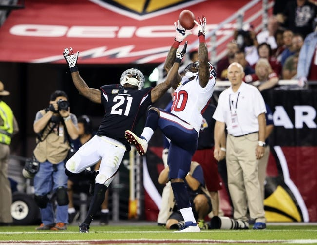 Arizona Cardinals vs. Houston Texans - 8/9/14
