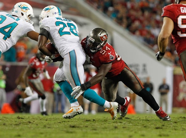Tampa Bay Buccaneers vs. Miami Dolphins NFL Preseason, Odds, Prediction - 8/16/14