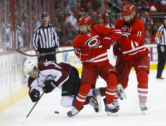 Colorado Avalanche vs. Carolina Hurricanes - 10/21/15 NHL Pick, Odds, and Prediction