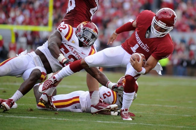 Iowa State vs. Oklahoma - 11/1/14 College Football Pick, Odds, and Prediction
