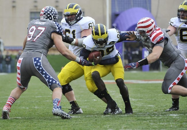 CFB | Michigan Wolverines (4-5) at Northwestern Wildcats (3-5)