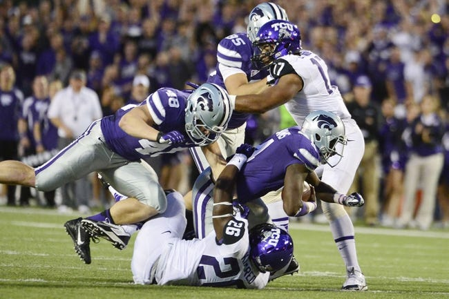 TCU vs. Kansas State - 11/8/14 College Football Pick, Odds, and Prediction