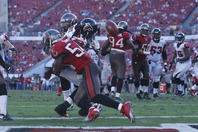 Atlanta Falcons vs. Tampa Bay Buccaneers - 9/18/14 NFL Pick and Odds