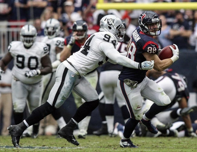 Oakland Raiders vs. Houston Texans - 9/14/14 NFL Pick and Odds