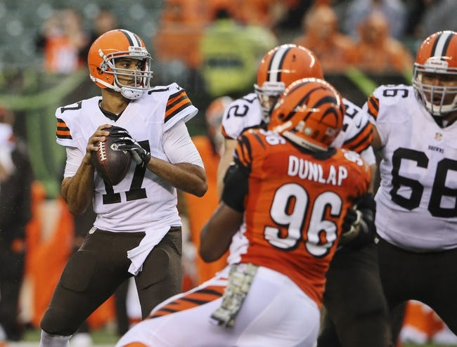 Browns at Bengals - 11/6/14 NFL Pick, Odds, and Prediction