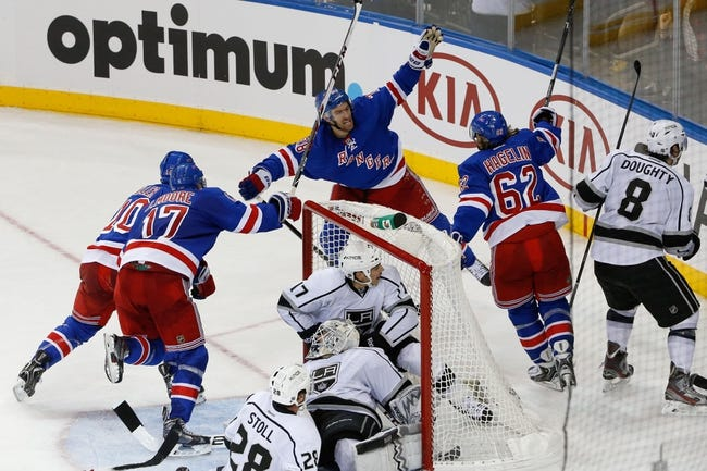 Los Angeles Kings vs. New York Rangers - 6/4/14