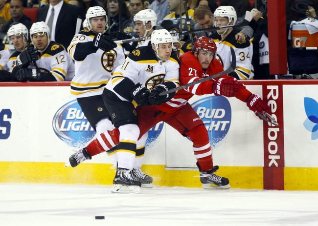Bruins vs. Hurricanes - 11/15/14 NHL Pick, Odds, and Prediction