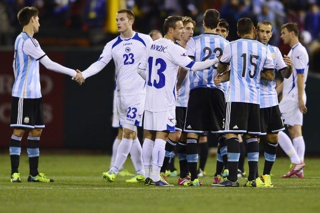 Soccer | Argentina (1-0) vs. Iran (0-0-1)