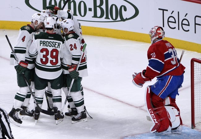 Montreal Canadiens vs. Minnesota Wild - 11/8/14 NHL Pick, Odds, and Prediction