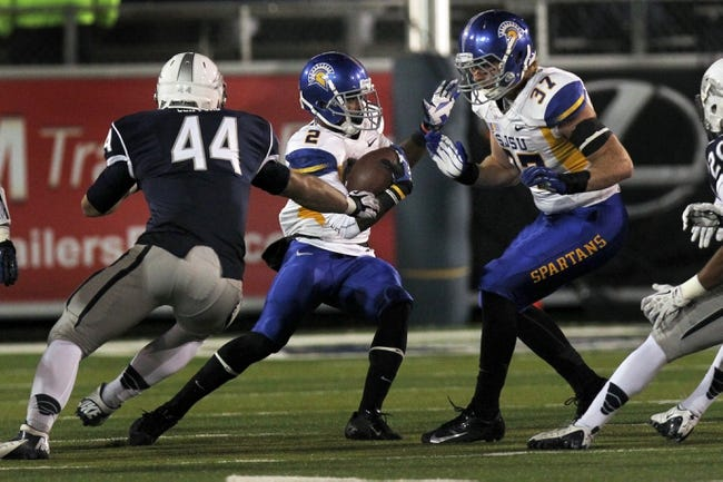 San Jose State Spartans vs. Nevada Wolf Pack Pick-Odds-Prediction - 9/27/14