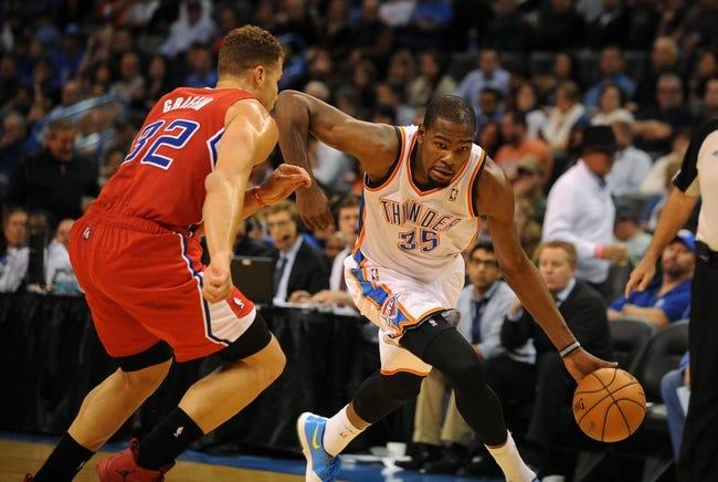 Los Angeles Clippers vs. Oklahoma City Thunder - 4/9/14
