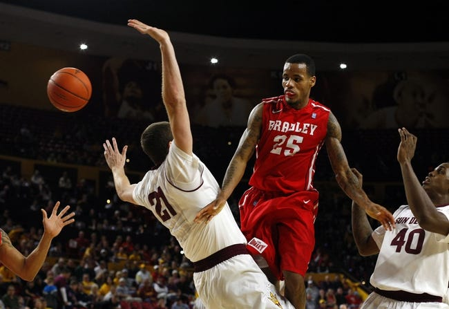 Kansas State Wildcats vs. Bradley Braves - 12/9/14 College Basketball Pick, Odds, and Prediction