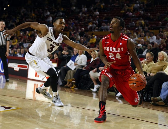 Bradley Braves vs. Missouri State Bears - 1/24/15 College Basketball Pick, Odds, and Prediction