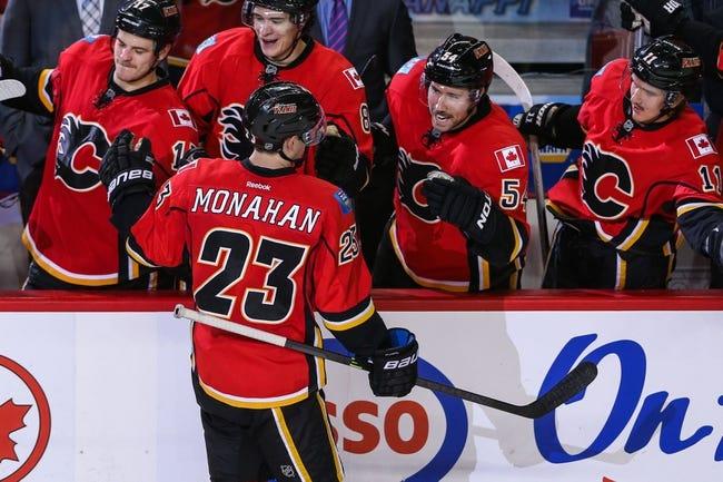 Florida Panthers vs. Calgary Flames - 4/4/14