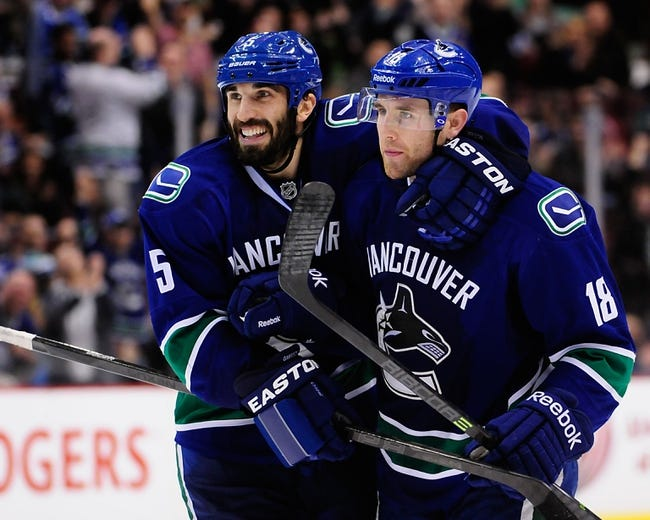 Columbus Blue Jackets vs. Vancouver Canucks - 11/28/14 NHL Pick, Odds, and Prediction