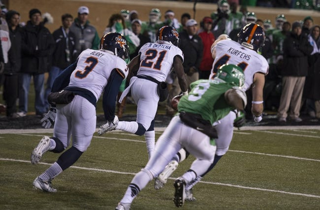 UTSA Roadrunners vs. North Texas Mean Green - 11/29/14 College Football Pick, Odds, and Prediction