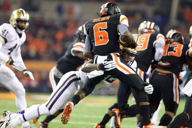 Oregon State vs. Arizona State - 11/15/14 College Football Pick, Odds, and Prediction