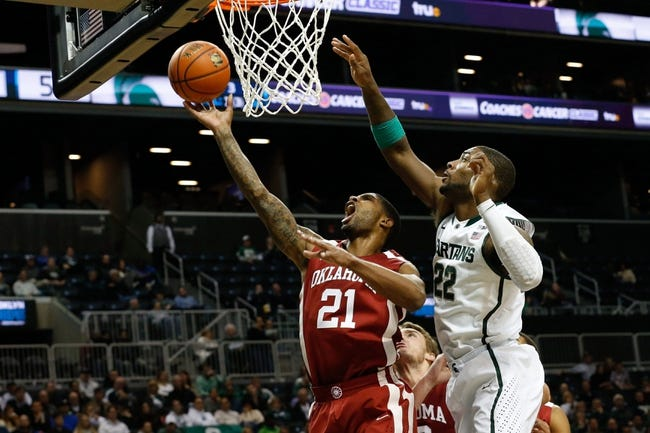 Michigan State Spartans vs Oklahoma Sooners-Sweet 16 - 3/27/15 College Basketball Pick, Odds, and Prediction