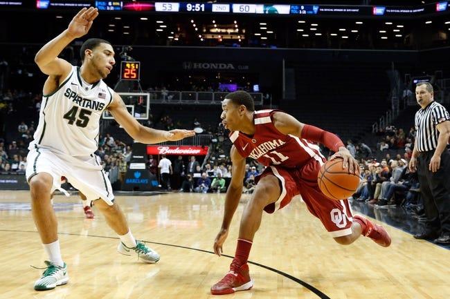 Michigan State vs. Oklahoma - 3/27/15 NCAA Tournament Pick, Odds, and Prediction