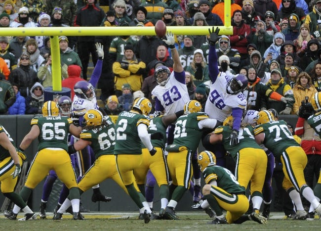 NFL News: Vikings at Packers 10/2/14 Free NFL Thursday Night Football Pick, Odds, Prediction