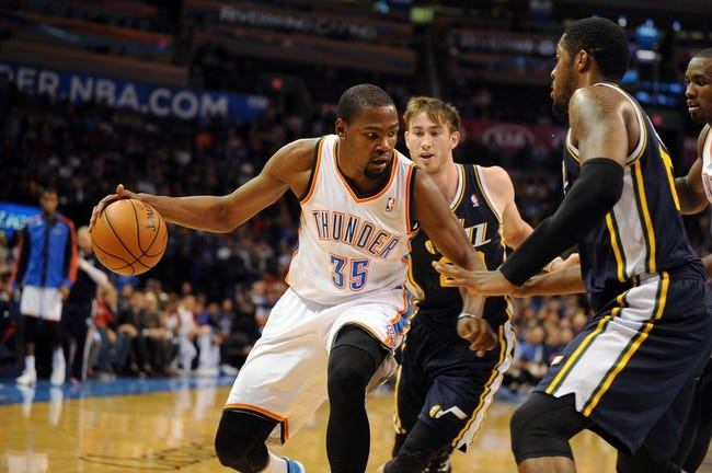 Oklahoma City Thunder vs. Utah Jazz 10/21/14 NBA Preseason Pick, Odds, Prediction