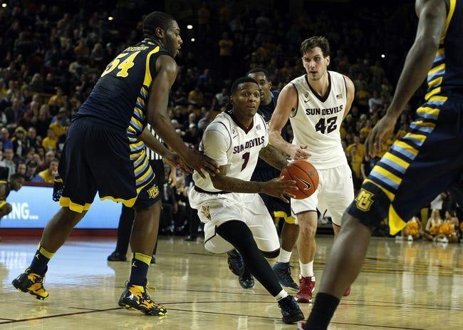 Marquette Golden Eagles vs. Arizona State Sun Devils - 12/16/14 College Basketball Pick, Odds, and Prediction