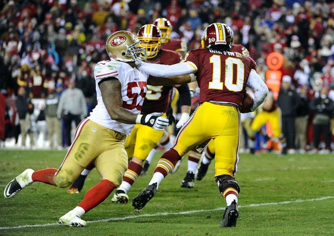 49ers vs. Redskins - 11/23/14 NFL Pick, Odds, and Prediction