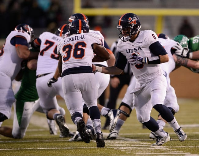 Houston Cougars vs. UTSA Roadrunners Pick-Odds-Prediction - 8/29/14