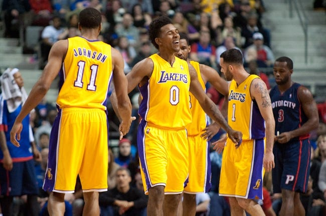Pistons vs. Lakers - 12/2/14 NBA Pick, Odds, and Prediction
