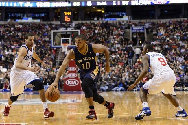 76ers vs. Pelicans - 1/16/15 NBA Pick, Odds, and Prediction