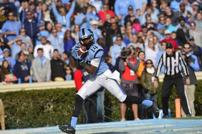 North Carolina Tar Heels vs. San Diego State Aztecs Pick-Odds-Prediction 9/6/14