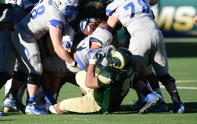 CFB | Colorado State Rams (10-1) at Air Force Falcons (8-3)