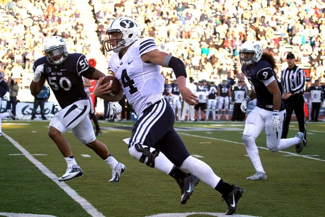 BYU Cougars vs. Nevada Wolf Pack Pick-Odds-Prediction - 10/18/14