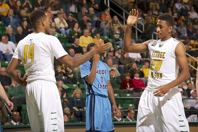 George Mason Patriots vs. Rhode Island Rams - 2/21/15 College Basketball Pick, Odds, and Prediction