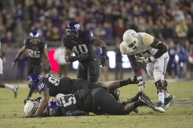 CFB | TCU Horned Frogs (4-0) at Baylor Bears (5-0)