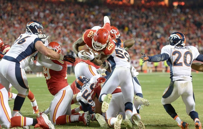 Fantasy Football 2014: Broncos at Chiefs 11/30/14 Week 13 Preview