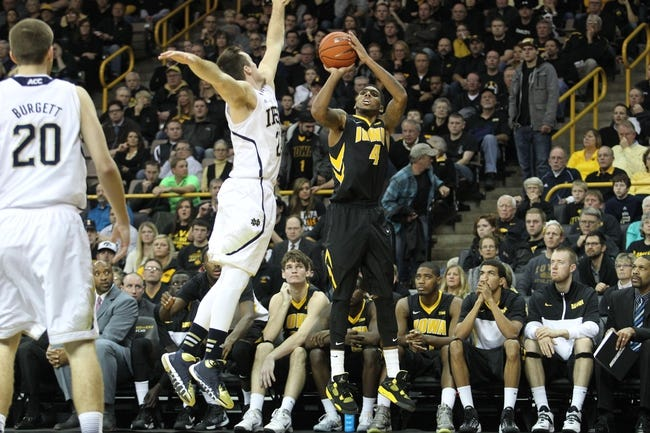 Iowa Hawkeyes vs. Notre Dame Fighting Irish - 11/27/15 College Basketball Pick, Odds, and Prediction