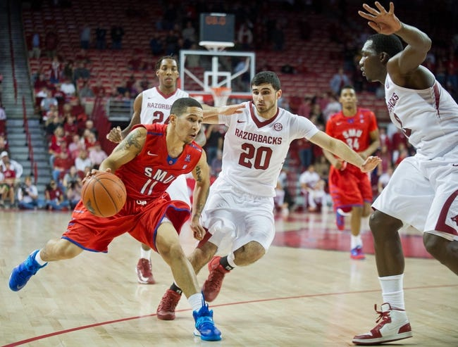 SMU vs. Arkansas - 11/25/14 College Basketball Pick, Odds, and Prediction