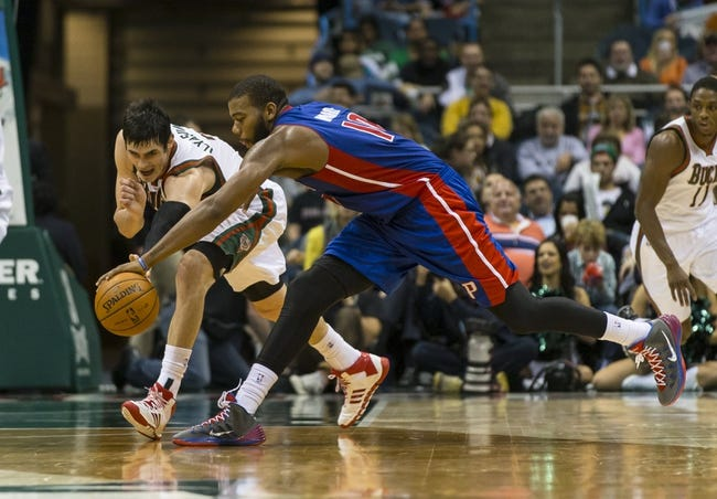 Milwaukee Bucks vs. Detroit Pistons - 10/9/14 NBA Preseason Pick, Odds, Prediction