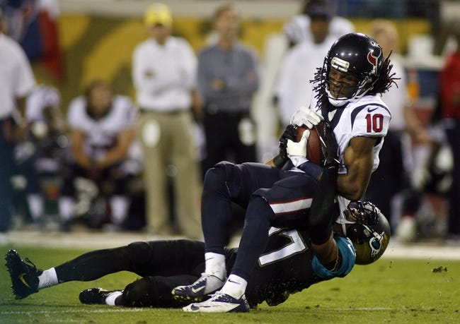 Jaguars vs. Texans - 12/7/14 NFL Pick, Odds, and Prediction