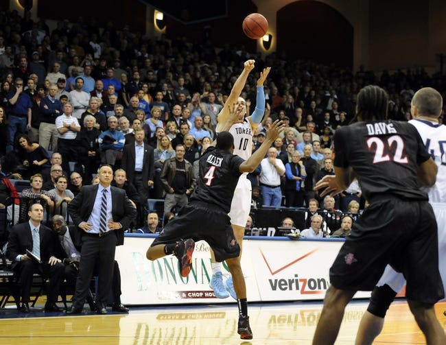 San Diego State vs. San Diego - 12/4/14 College Basketball Pick, Odds, and Prediction