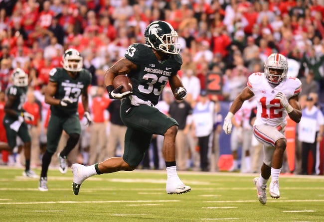 Michigan State vs. Ohio State - 11/8/14 College Football Pick, Odds, and Prediction