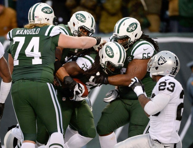 New York Jets vs. Oakland Raiders - 9/7/14