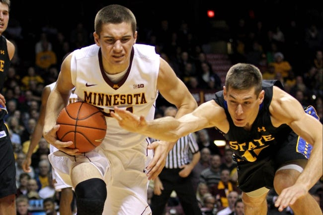 Minnesota vs. South Dakota State - 12/8/15 College Basketball Pick, Odds, and Prediction