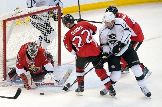 Ottawa Senators vs. Los Angeles Kings - 12/11/14 NHL Pick, Odds, and Prediction