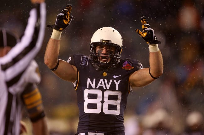 Navy Midshipmen vs. Army Black Knights - 12/13/14 College Football Pick, Odds, and Prediction