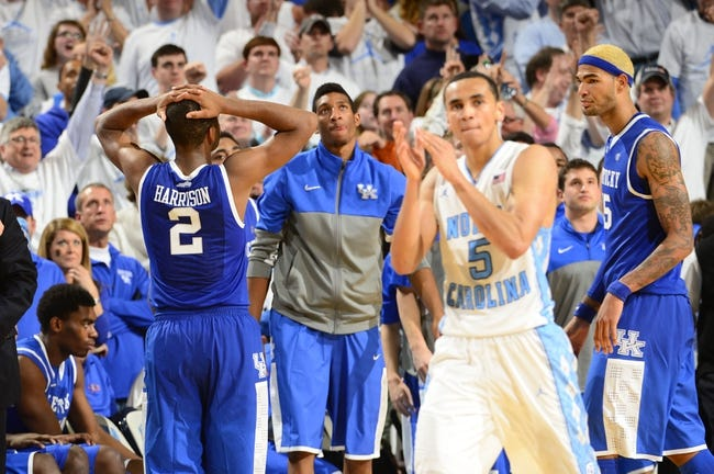 Kentucky vs. North Carolina - 12/13/14 College Basketball Pick, Odds, and Prediction