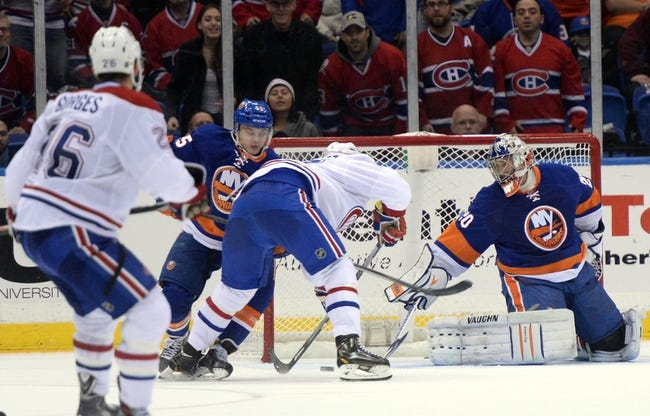 Montreal Canadiens vs. New York Islanders - 4/10/14